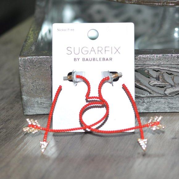 SUGARFIX BY BAUBLEBAR Arrows & Hears Hoop Earrings